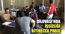 Başkan Şayir, ilçede işsizliği bitirecek projeyi hayata geçirdi