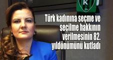 Hürriyet, Türk kadınına seçme ve seçilme hakkının verilmesinin 82. yıldönümünü kutladı