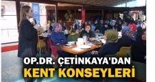 Op.Dr. Burcu Çetinkaya'dan Kent konseyleri projesi