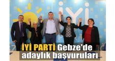 İYİ Parti Gebze'de adaylık başvuruları