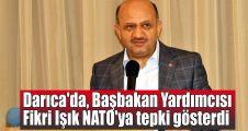 Darıca'da, Başbakan Yardımcısı Işık'tan NATO'ya tepki