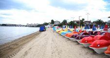 Bayramoğlu plajları yaza hazır