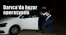 Darıca'da huzur operasyonu: Aranan 3 kişi yakalandı