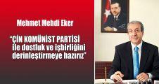 AK Parti: ÇKP ile dostluk ve işbirliğini derinleştirmeye hazırız
