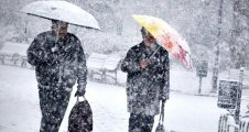 Kar bugün Trakya'dan giriş yapacak