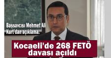 Kocaeli'de 268 FETÖ davası açıldı