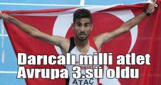 Darıcalı milli atlet Avrupa 3.sü oldu