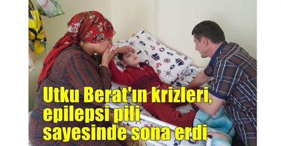 Utku Berat'ın krizleri, epilepsi pili sayesinde sona erdi