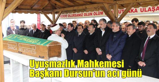 Uyuşmazlık Mahkemesi Başkanı Dursun'un acı günü