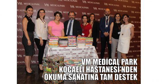VM MEDICAL PARK Kocaeli Hastanesi'nden okuma sanatına tam destek