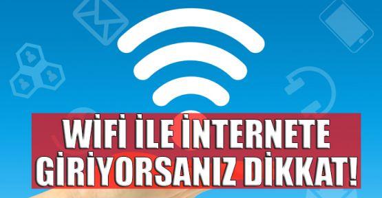 WiFi ile internete girenleri bekleyen tehlike