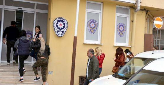 Yabancı uyruklu 5 kadın fuhuştan gözaltına alındı