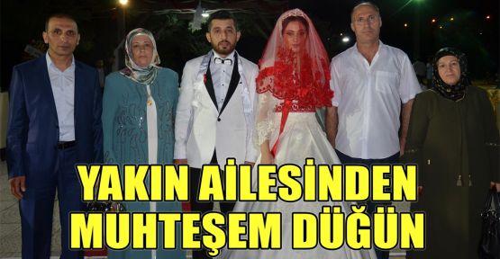 Yakın ailesinden muhteşem düğün