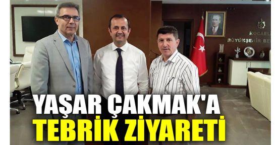 Yaşar Çakmak'a tebrik ziyareti