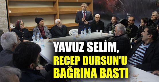 Yavuz Selim, Recep Dursun'u bağrına bastı