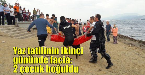 Yaz tatilinin ikinci gününde facia: 2 çocuk boğuldu