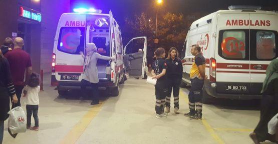 Yedikleri mantardan zehirlenen 10 kişi hastaneye kaldırıldı