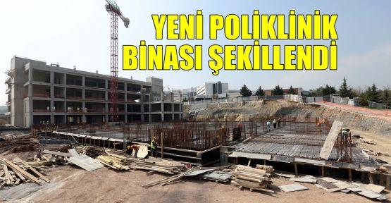 Yeni poliklinik binası şekillendi