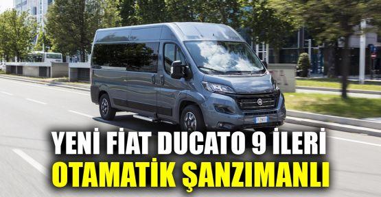 Yenilenen Fiat Ducato, 9 ileri otomatik şanzımanla geliyor
