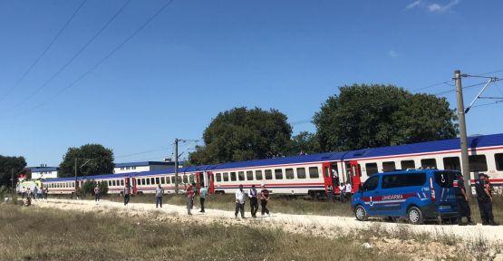 Yolcu treninin çarptığı çoban öldü