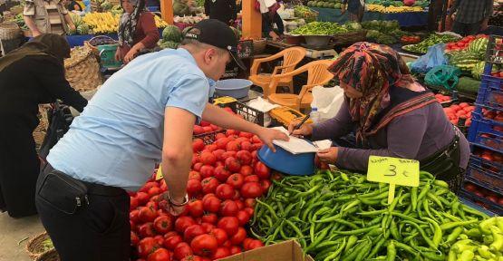 Zabıta'dan pazarlara bayram denetimi