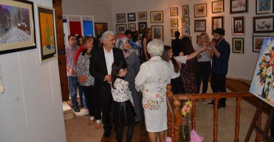 Zehra Çiriş resim sergisi açtı
