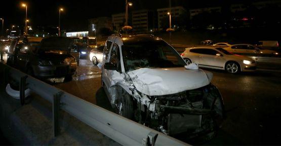 Zincirleme trafik kazasında 1 kişi öldü, 3 kişi yaralandı