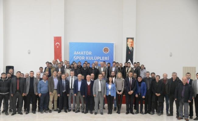 Bilecik Belediye Başkanı Şahin, amatör spor kulüplerinin temsilcileriyle buluştu