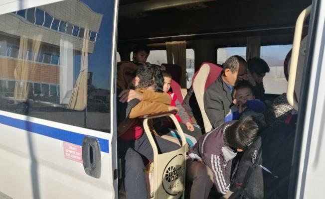 Çanakkale'de 34 düzensiz göçmen yakalandı