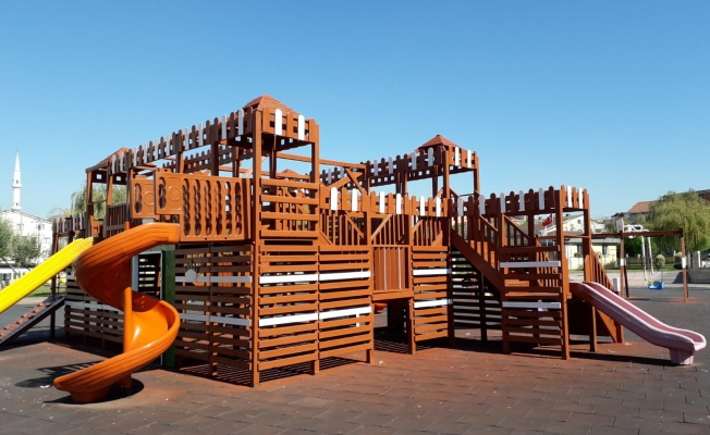 Darıca'da 106 parkta yenileme çalışması