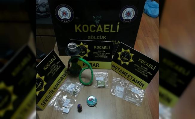 Kocaeli'deki uyuşturucu operasyonunda yakalanan 33 şüpheliden 17'si tutuklandı