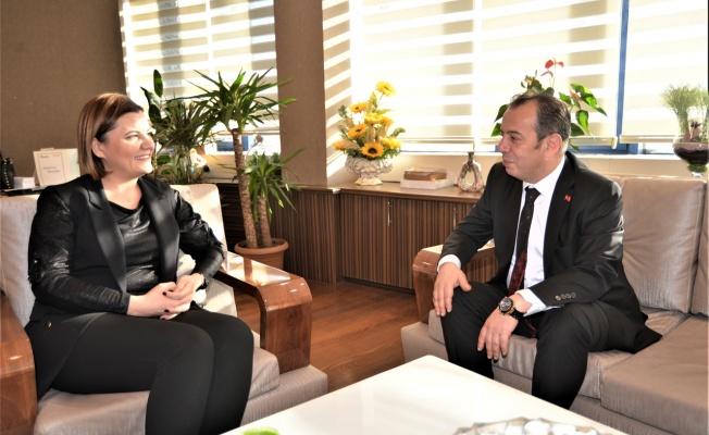 Hürriyet, Bolu Belediye Başkanı Özcan'ı ağırladı