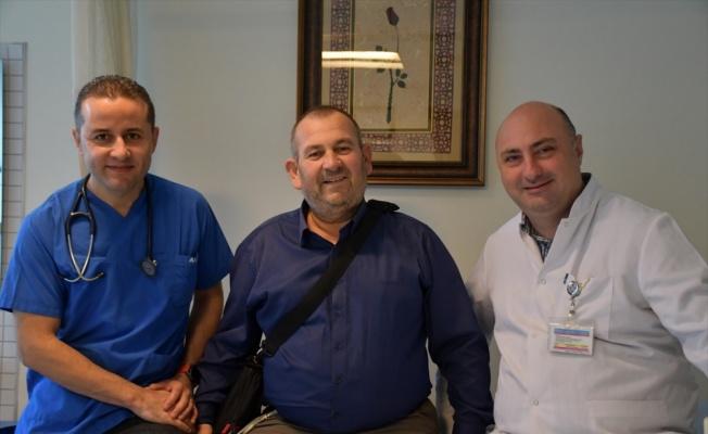 Kalp nakli için bekleyen hasta, yapay kalple tedavi edildi