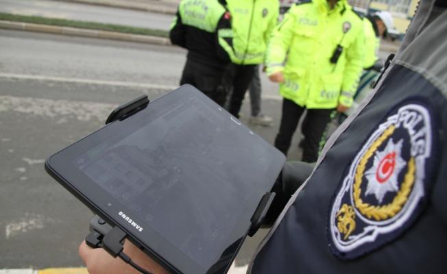 Kapaklı'da drone ile trafik uygulaması yapıldı