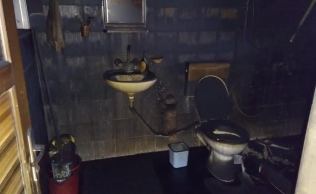 Lüleburgaz'da çıkan yangında bir ev zarar gördü