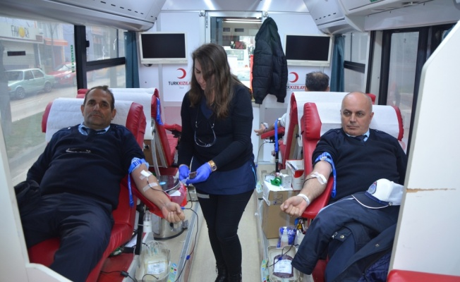 Malkara'da kan bağışı kampanyası