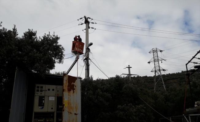 Marmara Adası sakinleri 53 saat sonra elektriğe kavuştu
