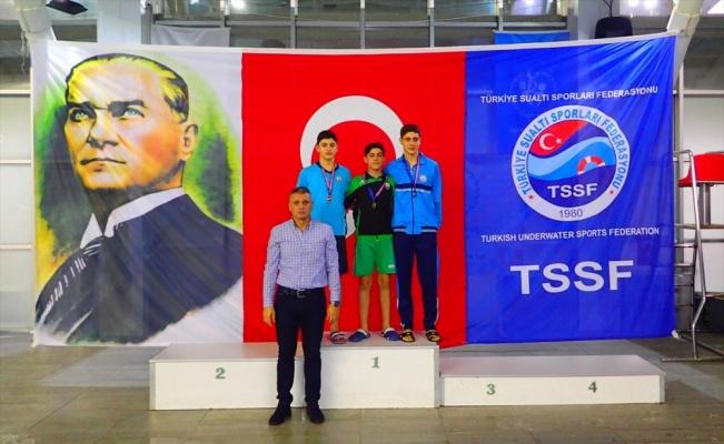 Paletli yüzmede 2019'un son Türkiye Şampiyonası Gebze'de sona erdi