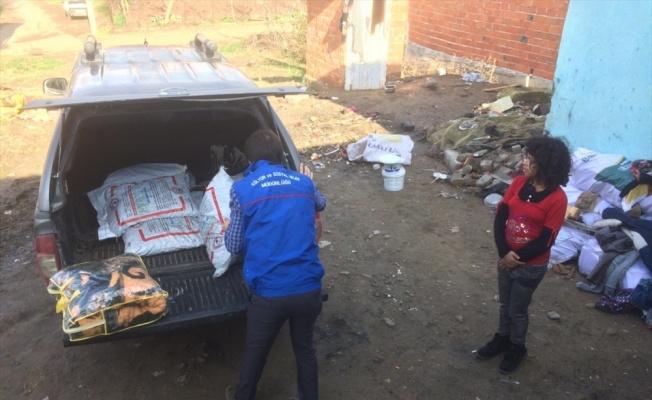 Sındırgı Belediyesinden ihtiyaç sahibi aileye yardım