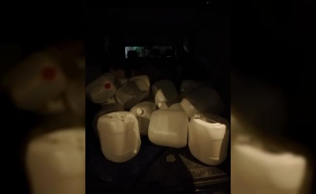 Tekirdağ'da kaçak alkol operasyonu