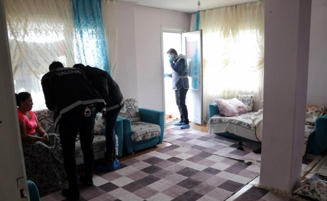 Yalova'da 300 polisin katıldığı hava destekli uyuşturucu operasyonu