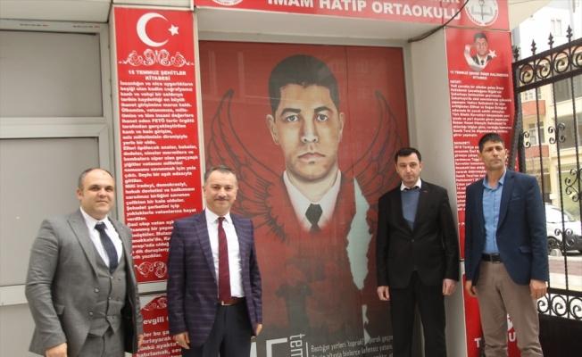 Ağabeyi Ömer Halisdemir'in Tekirdağ'da adının verildiği okulu ziyaret etti