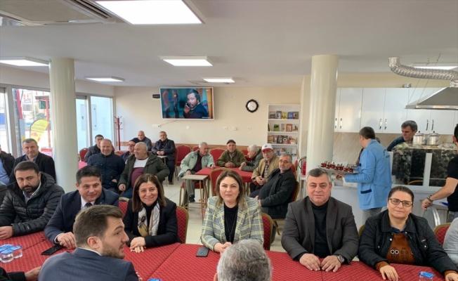 AK Parti Edirne İl Başkanı Belgin İba'dan ziyaretler