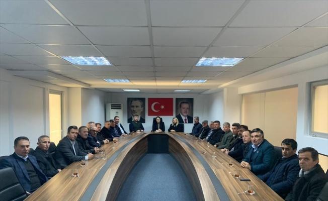 AK Parti Edirne İl Başkanı İba muhtarlarla bir araya geldi