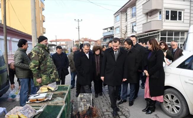 Balıkesir Büyükşehir Belediye Başkanı Yılmaz'dan esnaf ziyareti