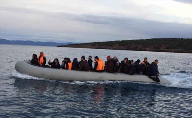Balıkesir'de 45 düzensiz göçmen yakalandı