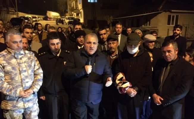 Barış Pınarı Harekatı gazisi babaevinde dualarla karşılandı
