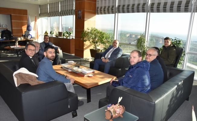 Batı Trakya Türkleri Dayanışma Derneği Genel Başkanı Hüseyin'den Şahin'e ziyaret