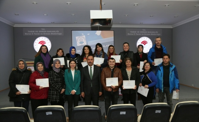 Bursa'da üretici örgütü temsilcilerine dış ticaret eğitimi