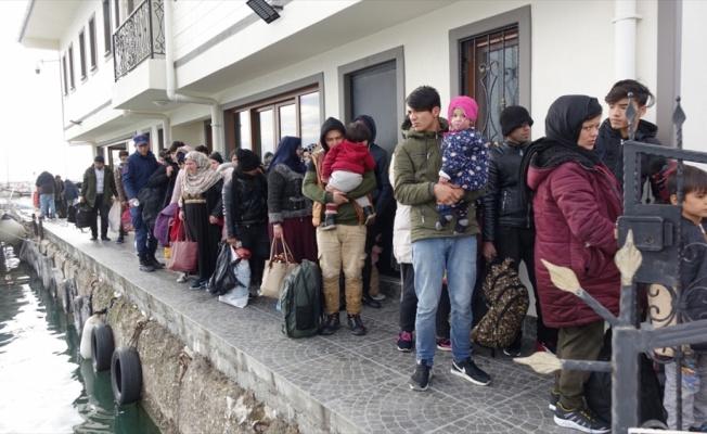 Çanakkale'de 126 düzensiz göçmen yakalandı